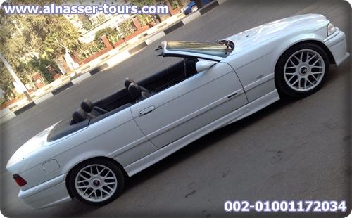 بي أم دبليو E36 دبانة للزفاف والافراح اللون أبيض